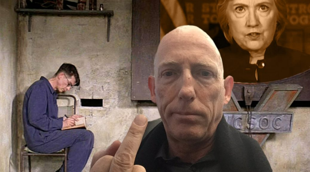 Coffee with Scott Adams Campaign Hillary Clinton Donald Trump George Orwell Nineteen Eighty-four